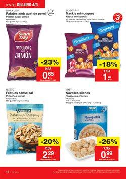 Ofertas de Snacks  en el folleto de Lidl en Palamos