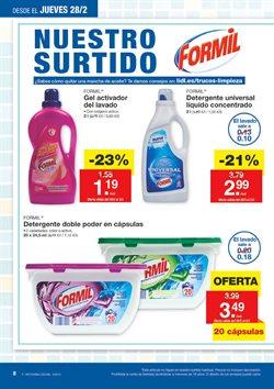 Ofertas de Detergente en cápsulas  en el folleto de Lidl en Madrid