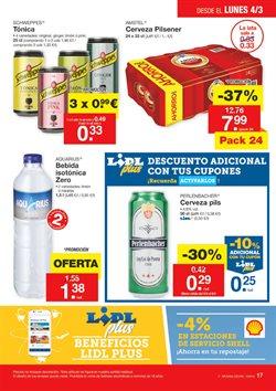 Ofertas de Aquarius  en el folleto de Lidl en Fuengirola