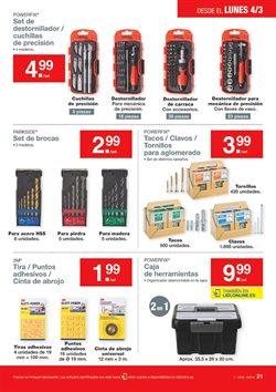 Ofertas de Atornillador a batería  en el folleto de Lidl en A Coruña