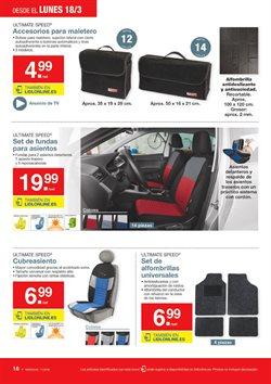 Ofertas de Alfombrillas coche  en el folleto de Lidl en Madrid