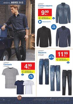 Ofertas de Pantalones hombre  en el folleto de Lidl en Jerez de la Frontera