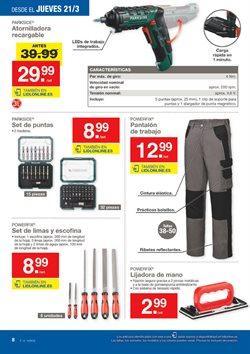 Ofertas de Atornillador a batería  en el folleto de Lidl en Jerez de la Frontera