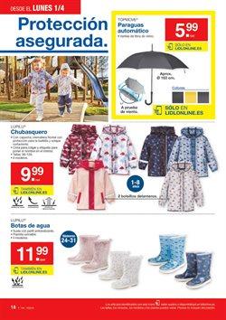 Ofertas de Botas de agua  en el folleto de Lidl en Alicante