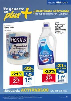 Ofertas de Detergente  en el folleto de Lidl en Santa Cruz de Tenerife