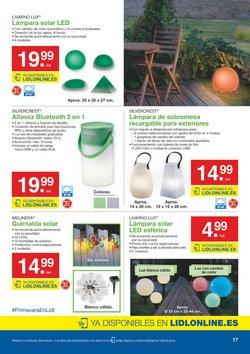 Ofertas de Lámpara de mesa  en el folleto de Lidl en Algeciras