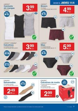 5301e5c862 Ofertas de Ropa interior masculina en el folleto de Lidl en Bilbao
