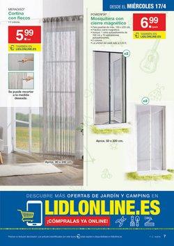 Ofertas de Cortinas  en el folleto de Lidl en Bilbao