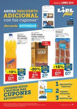 Ofertas de Sobaos  en el folleto de Lidl en Madrid