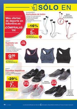 Ofertas de Zapatillas  en el folleto de Lidl en Madrid