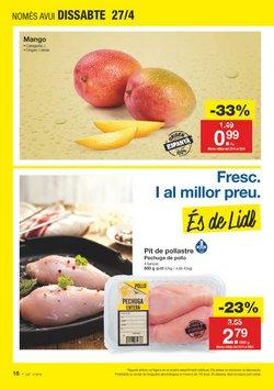 Ofertas de Pollo  en el folleto de Lidl en Figueres