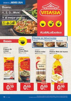 Ofertas de Vitasia  en el folleto de Lidl en Madrid