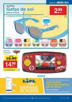 Ofertas de Gafas de sol  en el folleto de Lidl en Valladolid