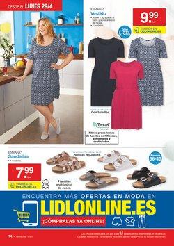 Ofertas de Zapatos mujer  en el folleto de Lidl en Valladolid
