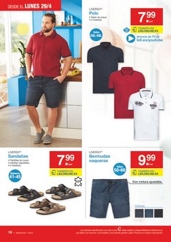 Ofertas de Pantalones hombre  en el folleto de Lidl en Valladolid