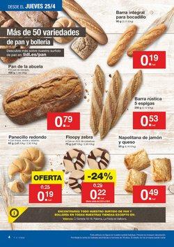 Ofertas de Pan  en el folleto de Lidl en Valencia