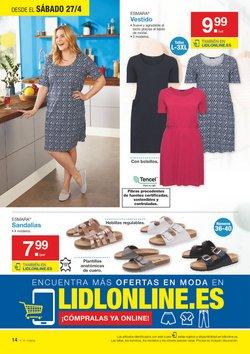 Ofertas de Vestidos  en el folleto de Lidl en Valencia