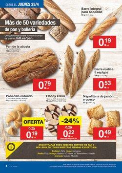 Ofertas de Pan  en el folleto de Lidl en El Puerto De Santa María