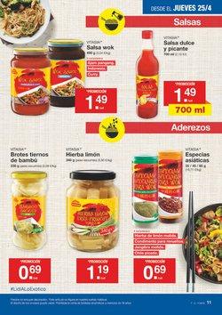 Ofertas de Salsas  en el folleto de Lidl en Granada