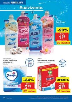 Ofertas de Ariel  en el folleto de Lidl en Pamplona