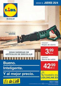 Ofertas de Parkside  en el folleto de Lidl en Donostia-San Sebastián