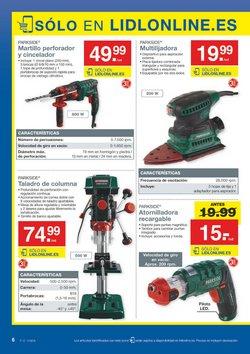 Ofertas de Martillo perforador  en el folleto de Lidl en Bilbao