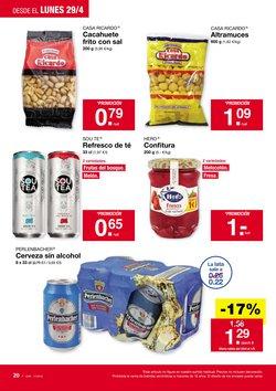Ofertas de Cerveza  en el folleto de Lidl en San Cristobal de la Laguna (Tenerife)