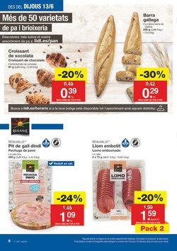 Ofertas de Pastas  en el folleto de Lidl en Prat de Llobregat