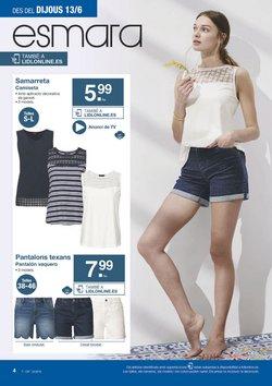 Ofertas de Pantalones mujer  en el folleto de Lidl en Barcelona