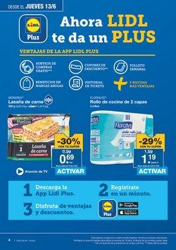 Ofertas de Lasaña  en el folleto de Lidl en Algeciras