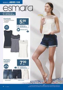 Ofertas de Pantalones mujer  en el folleto de Lidl en Málaga