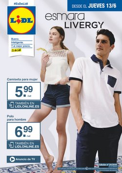 Ofertas de Camiseta mujer  en el folleto de Lidl en Alicante