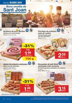 Ofertas de Carne  en el folleto de Lidl en Figueres