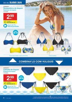 Ofertas de Bikinis  en el folleto de Lidl en Barcelona