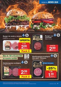 Ofertas de Hamburguesas  en el folleto de Lidl en Jaén