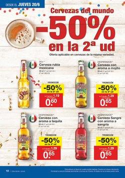 Ofertas de Cerveza  en el folleto de Lidl en El Ejido