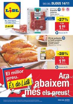 Ofertas de Lidl  en el folleto de Vilanova i la Geltru