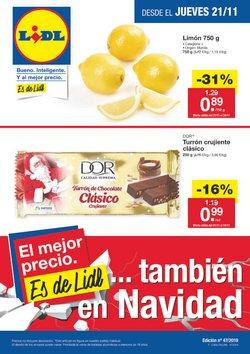Ofertas de Hiper-Supermercados  en el folleto de Lidl en Almuñécar