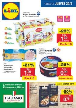 Ofertas de Hiper-Supermercados en el catálogo de Lidl en Segorbe ( 2 días más )