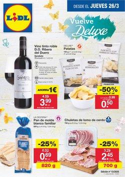 Ofertas de Hiper-Supermercados en el catálogo de Lidl en Bullas ( Caduca mañana )