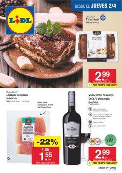 Ofertas de Hiper-Supermercados en el catálogo de Lidl en Adeje ( 3 días más )