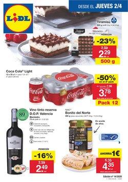 Ofertas de Hiper-Supermercados en el catálogo de Lidl en Abadiño ( 2 días más )