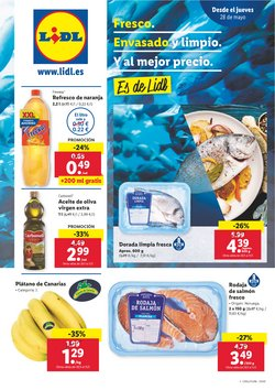 Ofertas de Hiper-Supermercados en el catálogo de Lidl en A Coruña ( 2 días publicado )