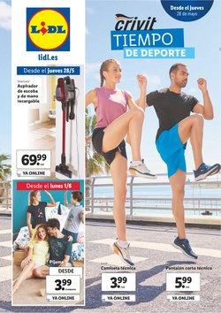Ofertas de Deporte en el catálogo de Lidl en Alcobendas ( Publicado ayer )