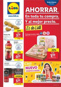 Ofertas de Hiper-Supermercados en el catálogo de Lidl en Sagunt-Sagunto ( Publicado hoy )