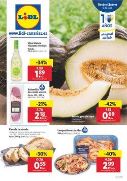 Ofertas de Hiper-Supermercados en el catálogo de Lidl en Santa Lucía de Tirajana ( Caduca hoy )