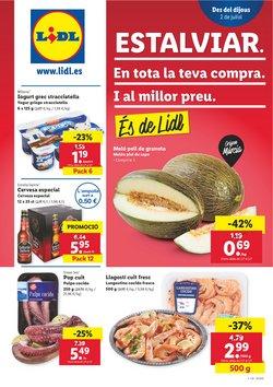 Ofertas de Hiper-Supermercados en el catálogo de Lidl en Garriga ( Caduca hoy )
