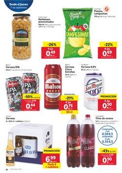 Ofertas de Cerveza de importación en Lidl