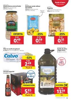 Ofertas de Aceite de oliva virgen en Lidl