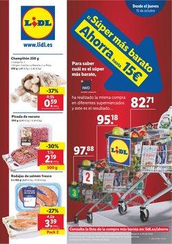 Ofertas de Hiper-Supermercados en el catálogo de Lidl en Oliva ( Caduca mañana )